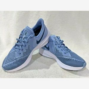 Nike Air Zoom Indigo Blue Winflo 6 Running Sneaker
